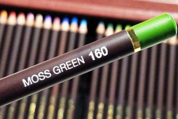 Hot stamping dourado aplicação detalhe lápis