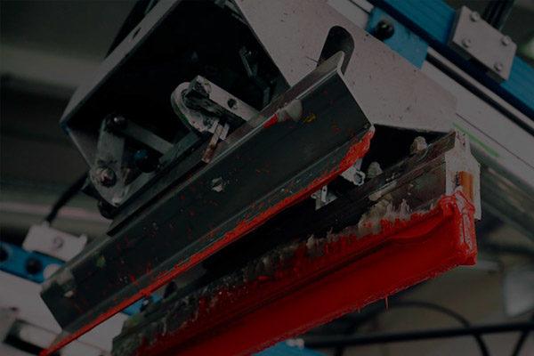 máquina de impressão industrial serigrafica